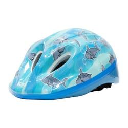 Capacete Absolute Kids Shake Azul Tubarão - 5121 - PEDAL PRÓ Bike Shop