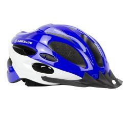 Capacete Absolute Nero Azul e Branco - 4440 - PEDAL PRÓ Bike Shop