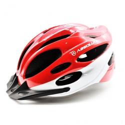 Capacete Absolute Nero Vermelho e Branco - 4437 - PEDAL PRÓ Bike Shop