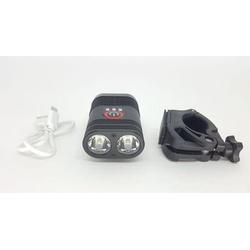 Farol TSW USB 600-Lumens Preto - 4693 - PEDAL PRÓ Bike Shop
