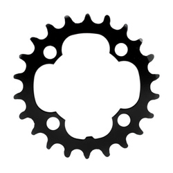 Coroa TSW Duplo Xtime BCD 104 24D - 1581 - PEDAL PRÓ Bike Shop