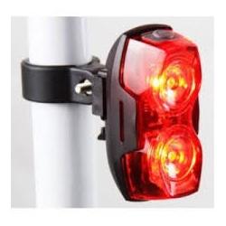 Refletor C2B Dois leds USB H-1046 - 2865 - PEDAL PRÓ Bike Shop