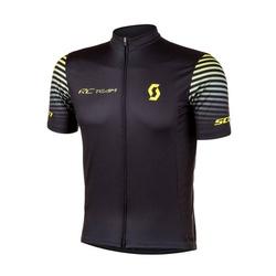 Camisa Scott 2020 Rc Team 10 Manga Curta Preto e A... - PEDAL PRÓ Bike Shop