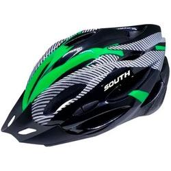 Capacete South Element Preto e Verde - 3391 - PEDAL PRÓ Bike Shop