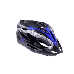 Capacete South Element Preto e Azul - 3392 - PEDAL PRÓ Bike Shop