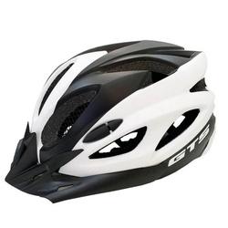 Capacete GTS In Mold Preto e Branco - 3397 - PEDAL PRÓ Bike Shop