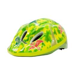 Capacete Absolute Kids Shake Verde Dino - 5130 - PEDAL PRÓ Bike Shop