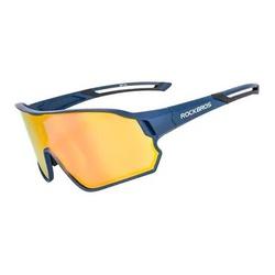 Oculos Rockbros Azul Mod 10134 - 4696 - PEDAL PRÓ Bike Shop
