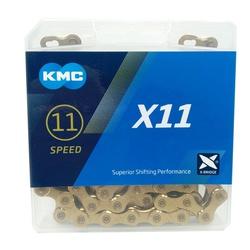 Corrente KMC 11V X11 Gold - 972 - PEDAL PRÓ Bike Shop