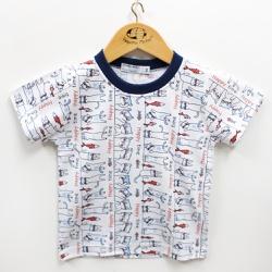 Pijama Masculino - 210010 Vermelho - Pequena Mania