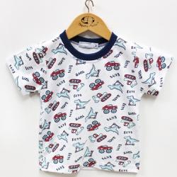Pijama Masculino - 210010 Turquesa - Pequena Mania