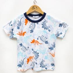 Pijama Masculino - 210018 Azul Jeans - Pequena Mania