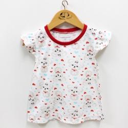 Pijama Feminino - 11121 Vermelho - Pequena Mania