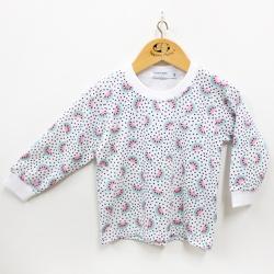 Pijama Feminino - 10009 Chiclete - Pequena Mania