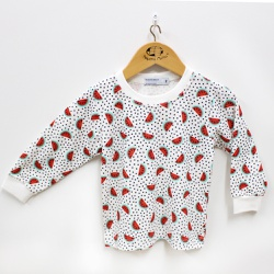 Pijama Feminino - 10009 Vermelho - Pequena Mania