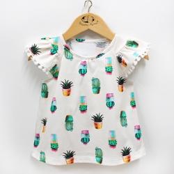 Bata Feminina - 9865 Est. Cactus - Pequena Mania
