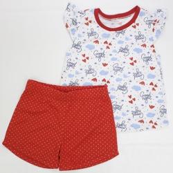 Pijama Feminino - 11121 Vermelho Real - Pequena Mania