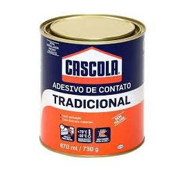 COLA DE CONTATO TRADICIONAL SEM TOLUOL 730G - PEROLA TINTAS