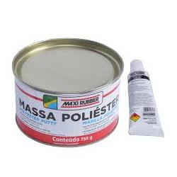 MASSA POLIÉSTER C/CATALISADOR 900G - PEROLA TINTAS