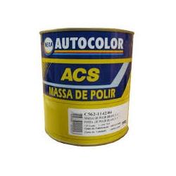 MASSA P/POLIR Nº2 BRANCA AUTOCOLOR 0,9L - PEROLA TINTAS
