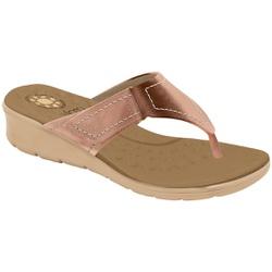 Chinelo para Esporão e Fascite - Cobre - MA10007NEC - Pé Relax Sapatos Confortáveis