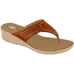 Chinelo Confort para Esporão e Fascite - Ruggine - MA10007NV - Pé Relax Sapatos Confortáveis