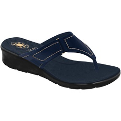 Chinelo Esporão e Fascite com Velcro - New Pele Eclipse / Sola Preta - MA10007NE - Pé Relax Sapatos Confortáveis