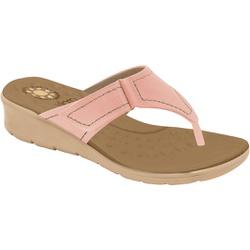 Chinelo Feminino para Esporão e Fascite - Quartzo - MA10007NPTP - Pé Relax Sapatos Confortáveis