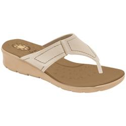 Chinelo Confort para Esporão e Fascite - Porcelana - MA10007PO - Pé Relax Sapatos Confortáveis
