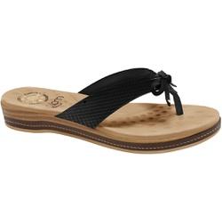 Chinelo para Esporão - Nassau Preto - MA128164NP - Pé Relax Sapatos Confortáveis