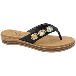 Chinelo para Esporão e Fascite - Preto - MA128189PT - Pé Relax Sapatos Confortáveis