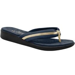 Chinelo Feminino Esporão e Fascite - Azul - MA14055AZ - Pé Relax Sapatos Confortáveis