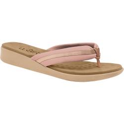 Chinelo Feminino Esporão e Fascite - Rosado - MA14055ND - Pé Relax Sapatos Confortáveis