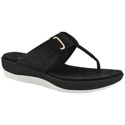 Chinelo para Esporão e Fascite - Preto - MA832010PT - Pé Relax Sapatos Confortáveis
