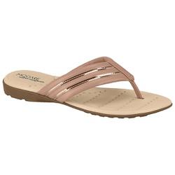 Chinelo Confortável Ultra Leve - Rosado - MO7053-110RO - Pé Relax Sapatos Confortáveis