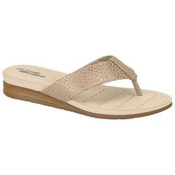 Chinelo Esporão e Fascite - Dourado - MO7113-200DO - Pé Relax Sapatos Confortáveis