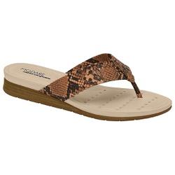 Chinelo Esporão e Fascite - Multi Camel - MO7113-200MC - Pé Relax Sapatos Confortáveis