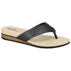 Chinelo Esporão e Fascite - Preto / Grafite - MO7113-200PG - Pé Relax Sapatos Confortáveis