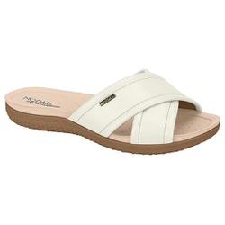 Tamanco para Esporão e Fascite - Branco - MO7125-224BR - Pé Relax Sapatos Confortáveis