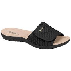 Tamanco para Esporão e Fascite com Velcro Total - Preto - MO7125-227PT - Pé Relax Sapatos Confortáveis