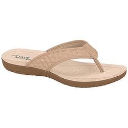 Chinelo para Esporão e Fascite - Bege - MO7125-223BE - Pé Relax Sapatos Confortáveis