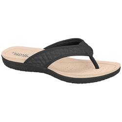 Chinelo para Esporão e Fascite - Preto - MO7125-223PT - Pé Relax Sapatos Confortáveis