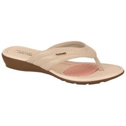 Chinelo para Esporão e Fascite - Bege - MO7127-227BG - Pé Relax Sapatos Confortáveis