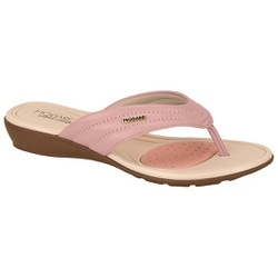 Chinelo para Esporão e Fascite - Rosa - MO7127-227RO - Pé Relax Sapatos Confortáveis