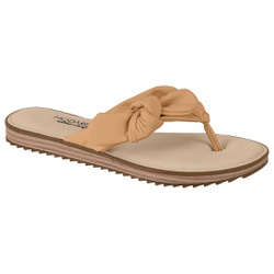 Chinelo Confortável - Areia - MO7141-119AR - Pé Relax Sapatos Confortáveis