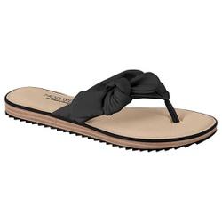 Chinelo Confortável - Preto - MO7141-119PT - Pé Relax Sapatos Confortáveis