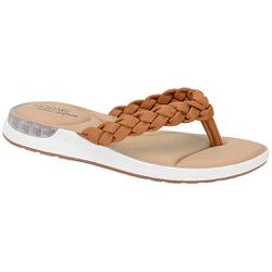 Chinelo c/ Amortecedor Gel para Esporão e Fascite - Camel - MO7159-101CAM - Pé Relax Sapatos Confortáveis
