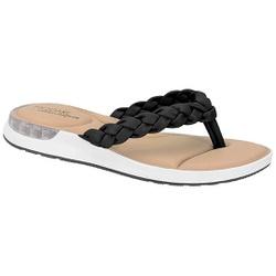 Chinelo c/ Amortecedor Gel para Esporão e Fascite - Preto - MO7159-101PT - Pé Relax Sapatos Confortáveis