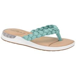 Chinelo c/ Amortecedor Gel para Esporão e Fascite - Turquesa - MO7159-101TU - Pé Relax Sapatos Confortáveis
