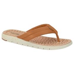 Chinelo para Esporão e Fascite - Camel - MO7162-200CA - Pé Relax Sapatos Confortáveis